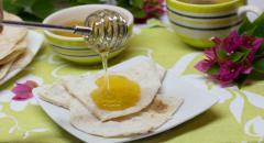 Хлебные лепешки без дрожжей (на сковороде)