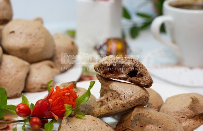 рецепт печенья из белков