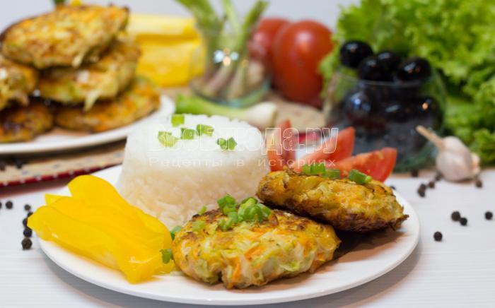 рецепт котлет из капусты
