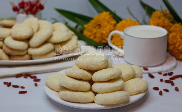 готовое кукурузное печенье