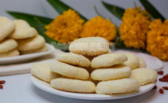 рецепт кукурузного печенья на сметане
