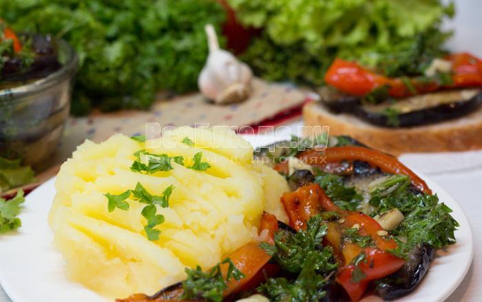как приготовить маринованные баклажаны с болгарским перцем