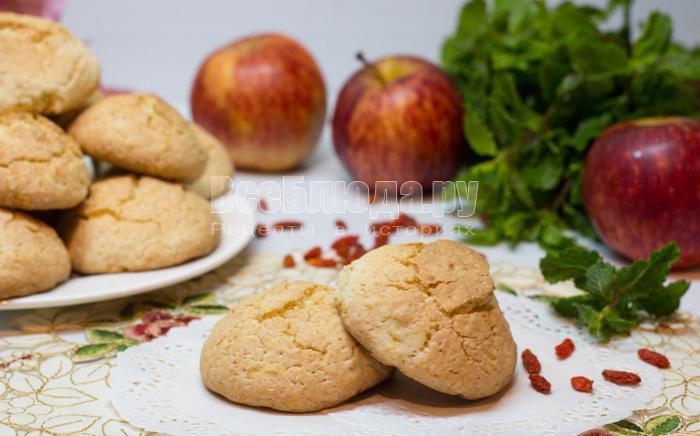 готовое овсяное печенье