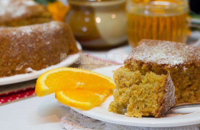 Запеченная овсянка «Морковный пирог», пошаговый рецепт с фото