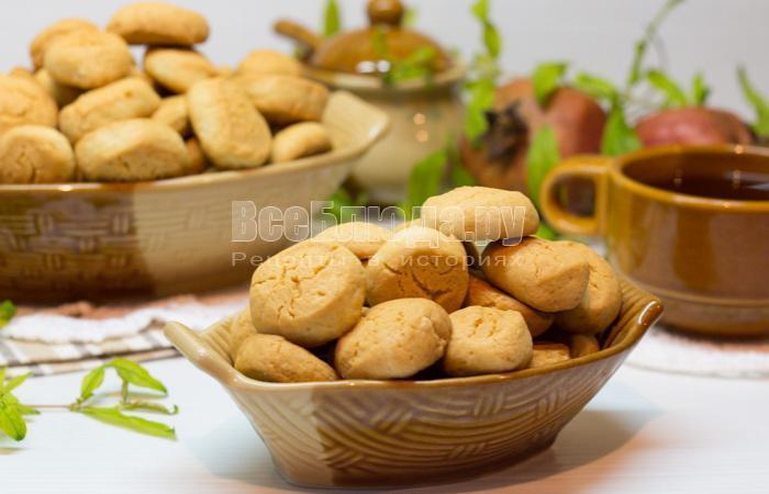 песочное печенье капельки