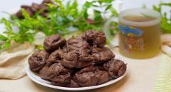 Шоколадные эклеры с заварным кремом