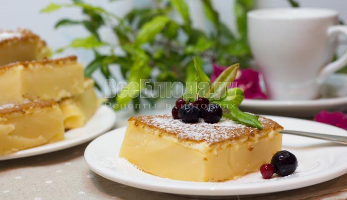рецепт с фото умного пирожного