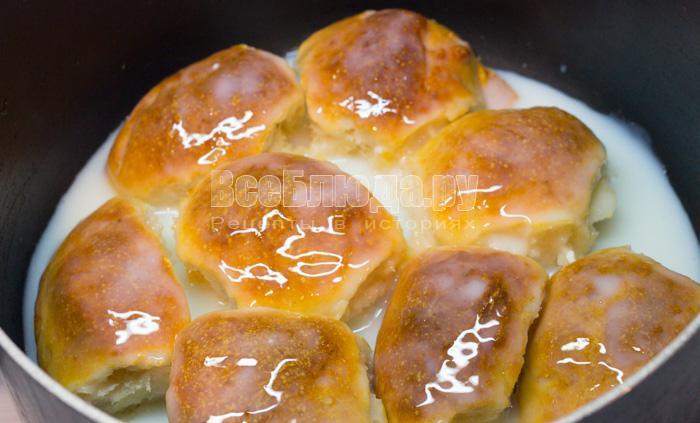 Булочки со сметаной рецепт с фото