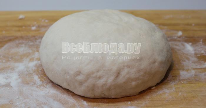 постное тесто для пельменей