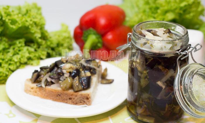 рецепт на зиму баклажаны со вкусом грибов, пошаговые фото