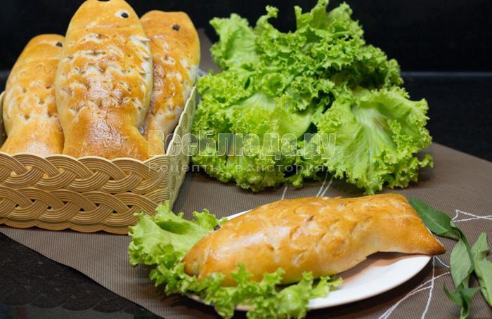 пирожки с рыбой