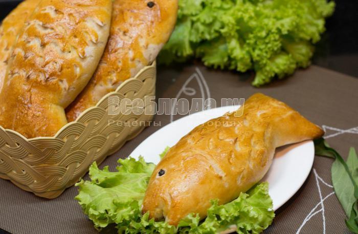 пирожки с рыбной начинкой