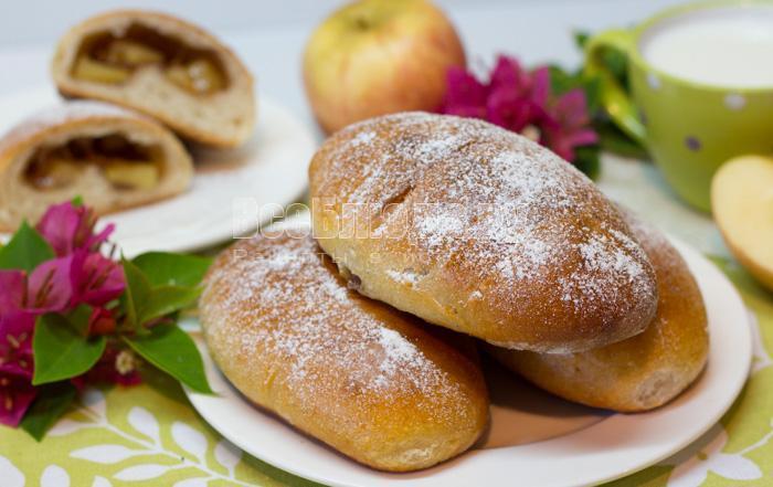 как приготовить пирожки с яблочной начинкой