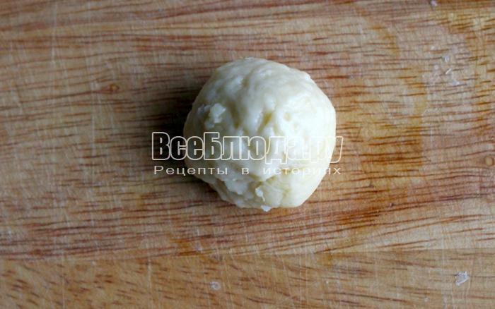 Крекеры из сметаны с сыром