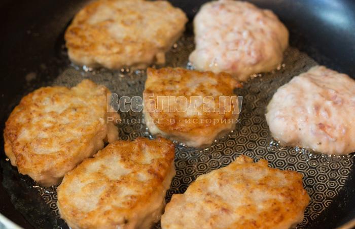 Оладьи на кефире с фаршем пышные - рецепт с фото пошагово 79