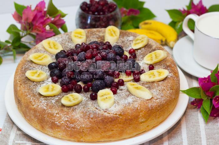 рецепт пирогов и кексов в мультиварке