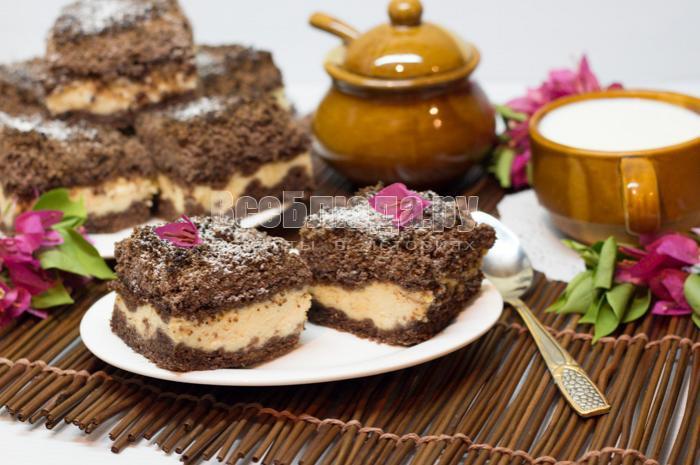 готовый торфяной пирог