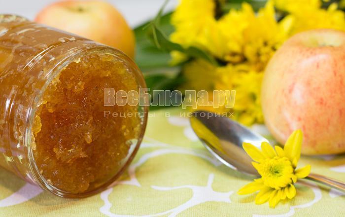 как сварить повидло из яблок