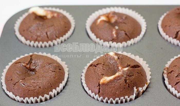 выпекать кексы с творогом
