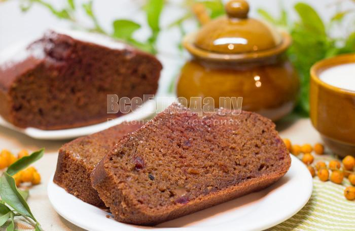 рецепт свекольного кекса