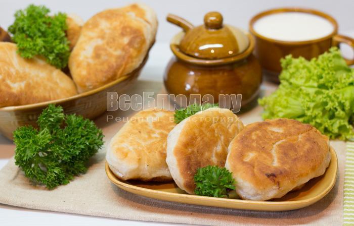 Тесто для жареных пирожков, беляшей