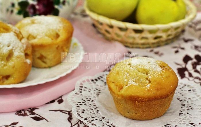 готовые кексы с дыней