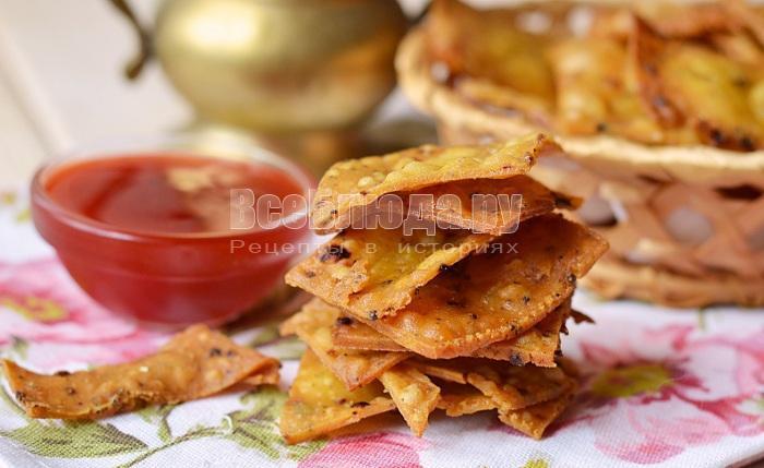 рецепт кукурузных чипсов, фото