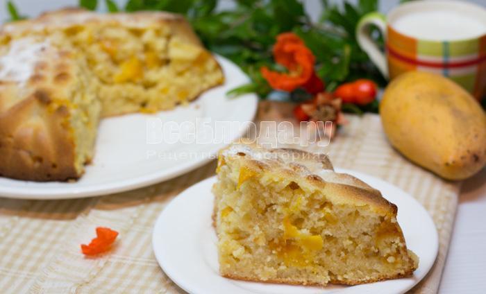 манник с манго, рецепт с фото