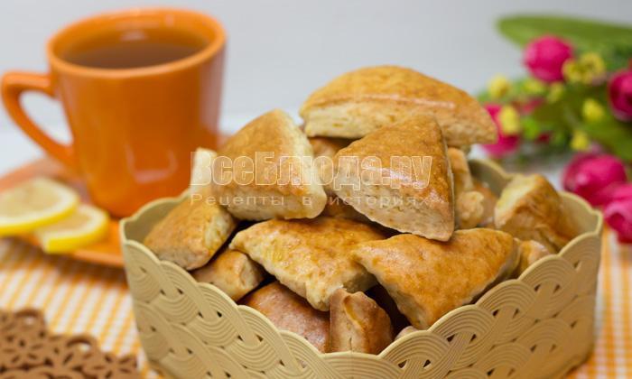 рецепт печенья на рассоле
