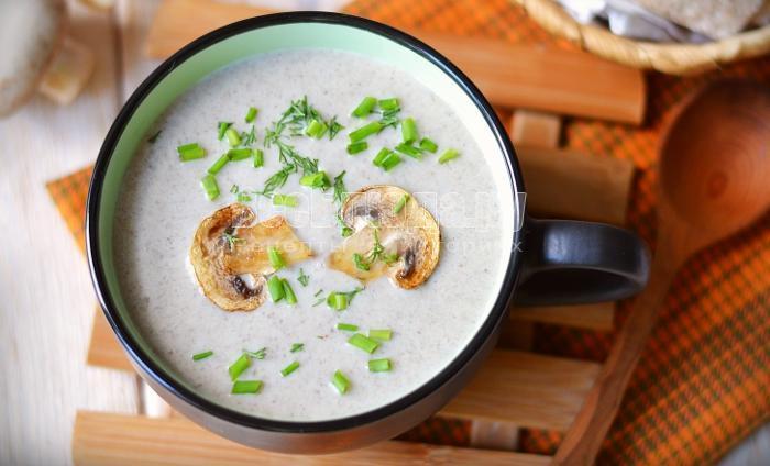 как приготовить крем суп из грибов