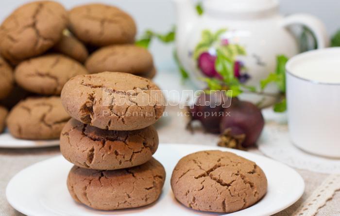 Шоколадное печенье Нежные моменты с крахмалом