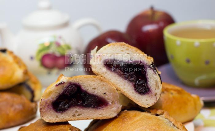 рецепт пирожков с ягодой