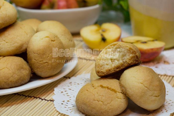 как приготовить печенье с манкой