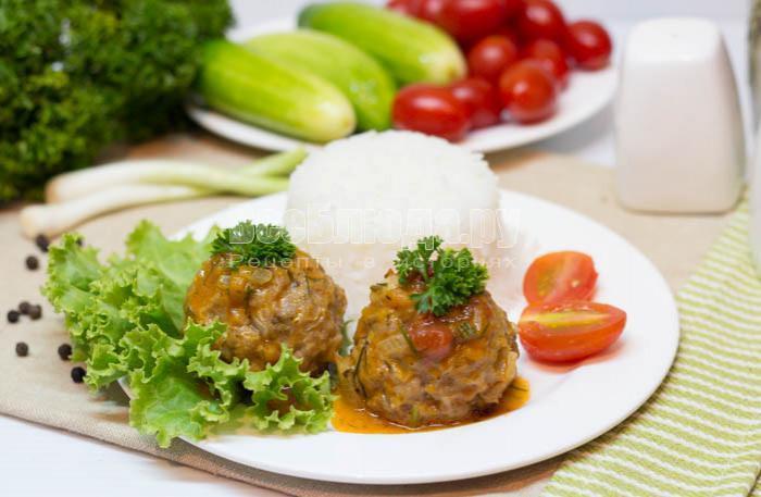 рецепт мясных шариков из курицы
