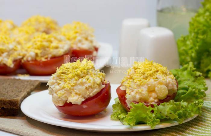 как приготовить салат с икрой минтая