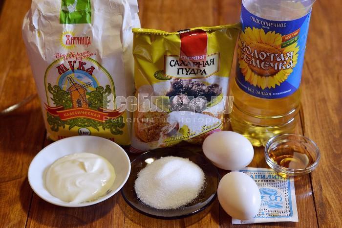 продукты для хвороста