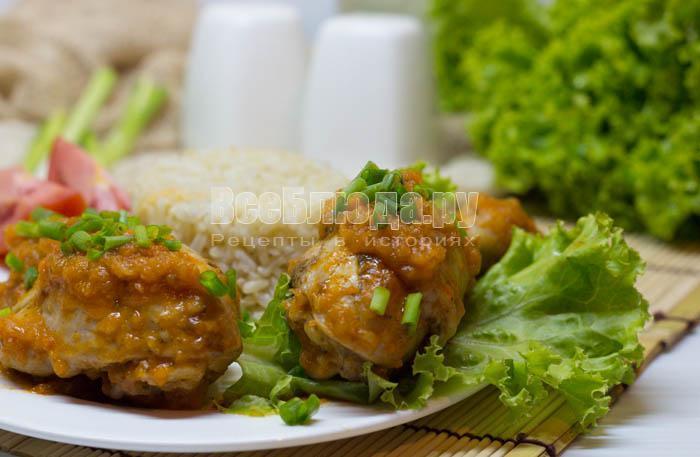 рецепт курицы с кабачковой икрой