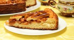 Рецепт пирога с яблоками из дрожжевого теста