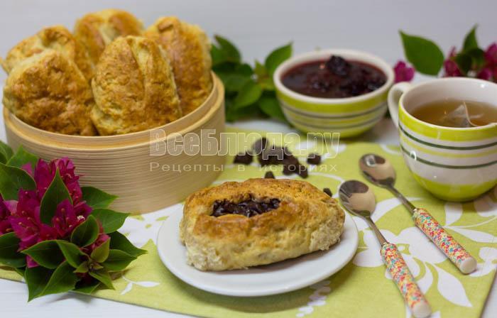 готовые булочки на соде