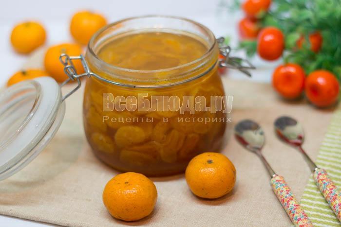 готовое мандариновое варенье