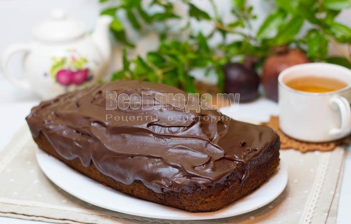 нанести растопленный шоколад
