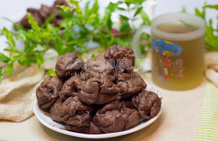 рецепт шоколадных эклеров