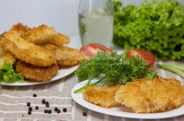 рецепт кальмаров в панировочных сухарях