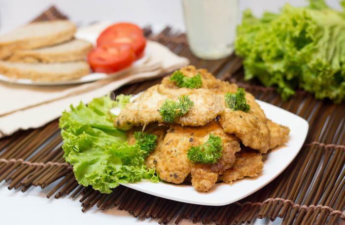 готовые отбивные из куриного филе