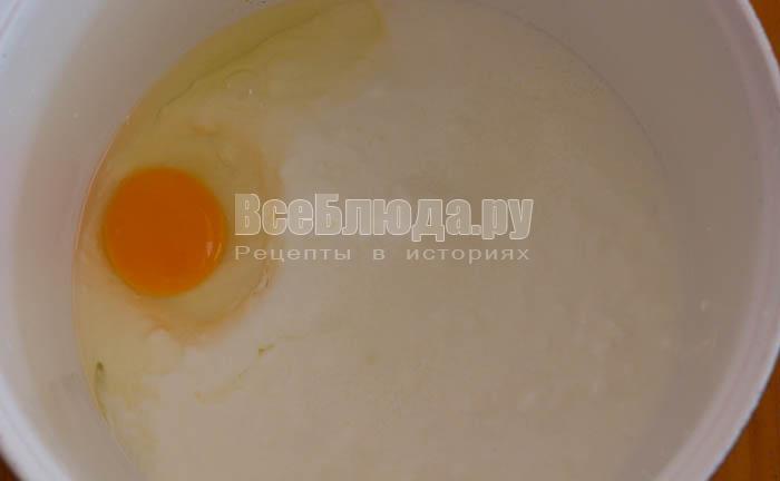яйцо и кефир