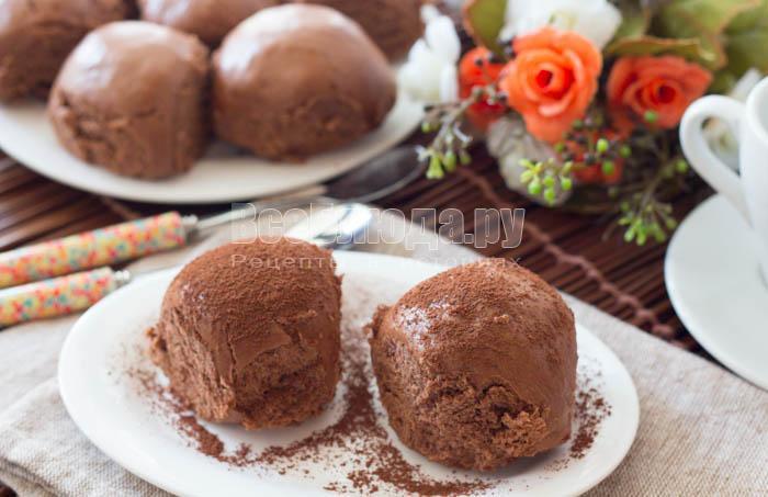 готовые шоколадные пряники на пару