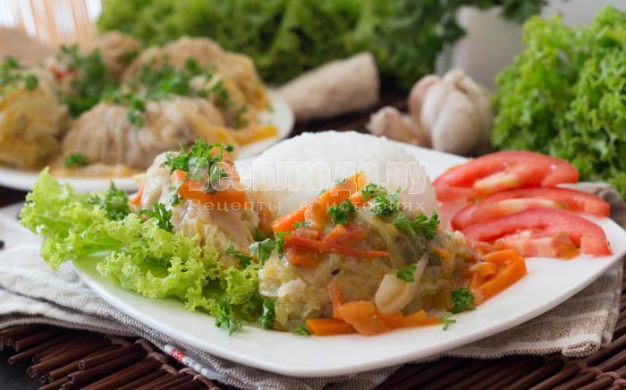как приготовить вкусные голубцы из пекинской капусты