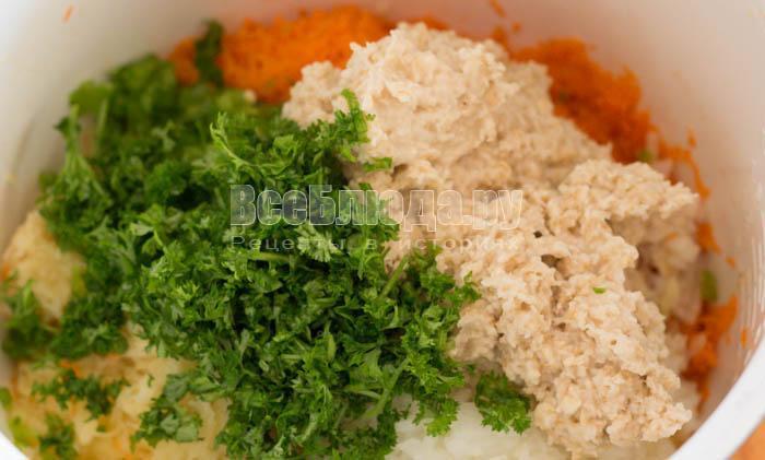 Постные котлеты из морковки, картошки, геркулеса