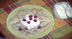 Вкусные вареники с вишней, пошаговый рецепт с фото