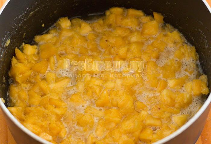 сварить ананасовое варенье